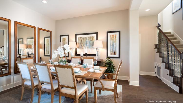 The dining room may stand out in this photo, but check out the little doggy room underneath the staircase. Austin homebuilder Wes Peoples says baby boomers want features that cater to their grandkids and pets. Click on the photo to launch a slideshow of the new boomer homebuilding wishlist.