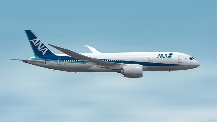 All Nippon Airways has ordered 40 Boeing airplanes, including 14 787 models.