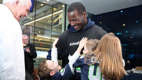 Seattle Seahawk Derrick Coleman, the first deaf running back in the National Football League, has signed a deal to become an official hearing ambassador for Starkey Hearing Technologies of Minneapolis.