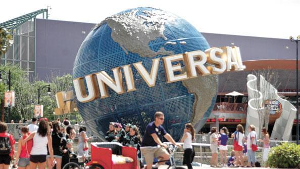 Universal Orlando saw growth in revenue.