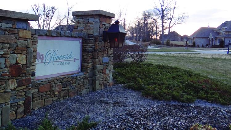 Blue Ridge Cos. has plans for 65 upscale homes on 217 acres adjacent to the Riverside at Oak Ridge subdivision.