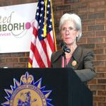 Snapshot: <strong>Sebelius</strong> resignation + Prosecutor's father rescued in Atlanta