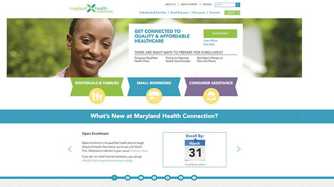 Maryland may be adopting Connecticut's system and scrapping its own health care exchange, the Washington Post reported.