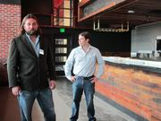 Franchise owners Anthony Coco, left and Joseph Edwards plan to open three more locations in the Washington area.