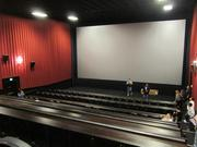 A view of one of the largest screening rooms, which has 151 seats.