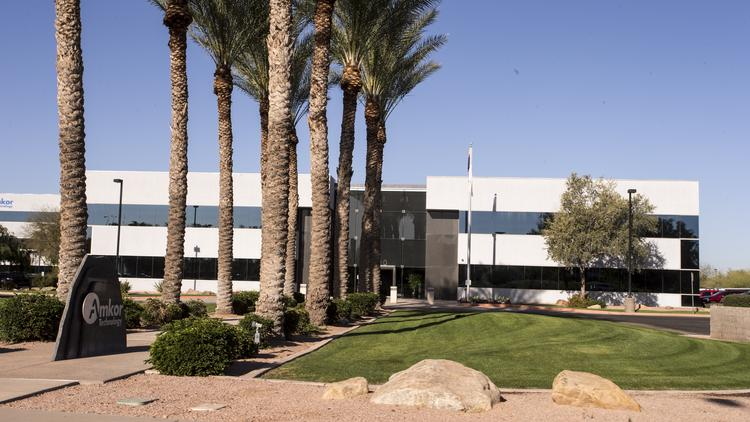 Amkor Technology Inc.'s Chandler headquarters.
