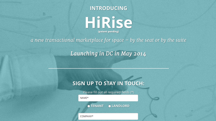 Set to launch in May, HiRise will allow tenants to search for new office space, narrow their choices and sign a lease all from one platform.
