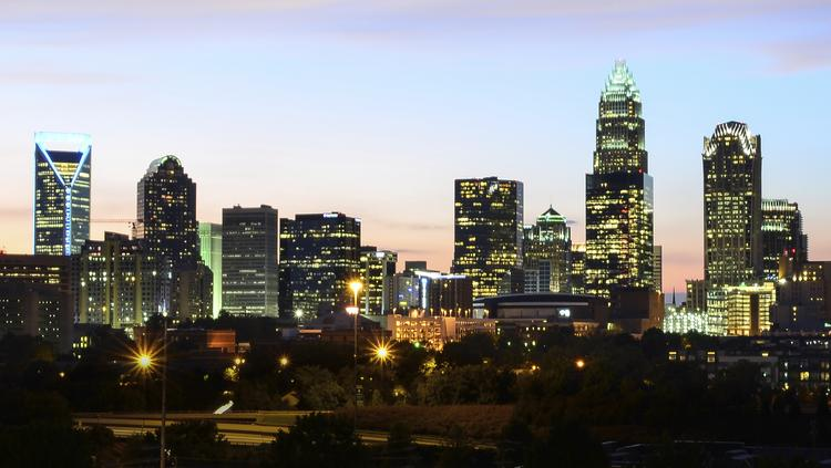 "The Charlotte metro area landed at No. 14 on Forbes' 2014 list of ""The Best Big Cities for Jobs."""