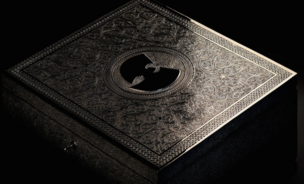 The British-Moroccan artist Yahya created this box to hold the one and only copy of Wu Tang's new album, Once Upon A Time In Shaolin.