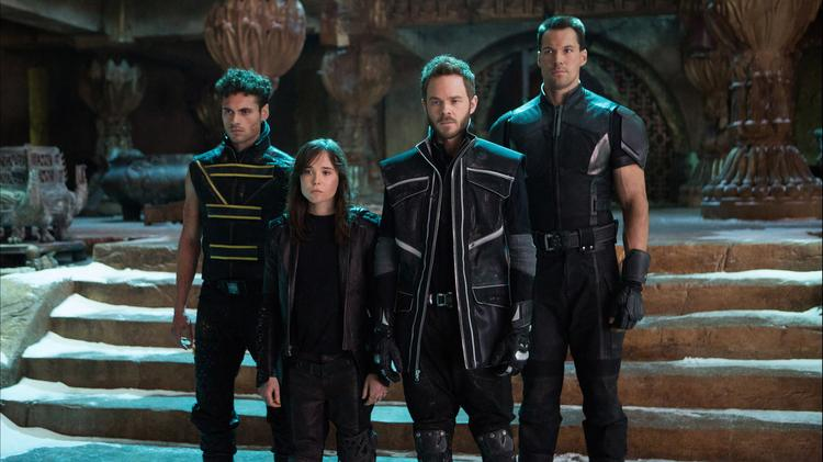 """Fox's """"X-Men"""" preview at CinemaCon included the first few minutes of the film, a harrowing sequence in which an apparent mutant hiding place is stormed by unstoppable smoldering robot sentinels, plus the trailer."""