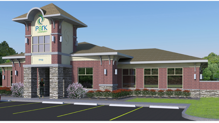 Work is under way for a new headquarters for Park Community Federal Credit Union, and two new branches will open soon. Construction of the new headquarters broke ground recently at 2515 Blankenbaker Parkway.