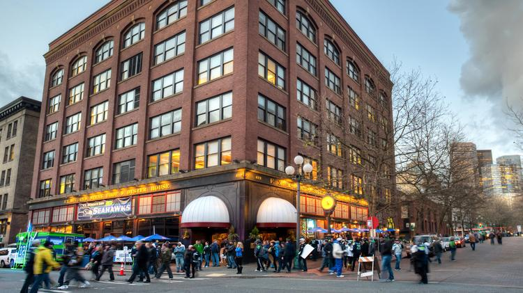 The F.X. McRory Building in Seattle's Pioneer Square sold Thursday for nearly $17.55 million cash.