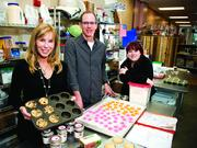 Tracey and Scott Noonan with daughter Danielle have seen tremendous growth of their business Wicked Good Cupcakes.