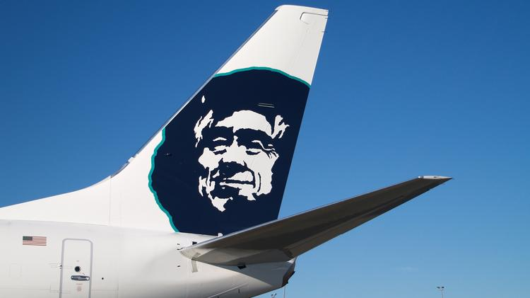 Union employees of Alaska Airlines wanted to be sure they'll be involved, if the smiling Eskimo faces on their aircraft are ever replaced with another carrier's logo.