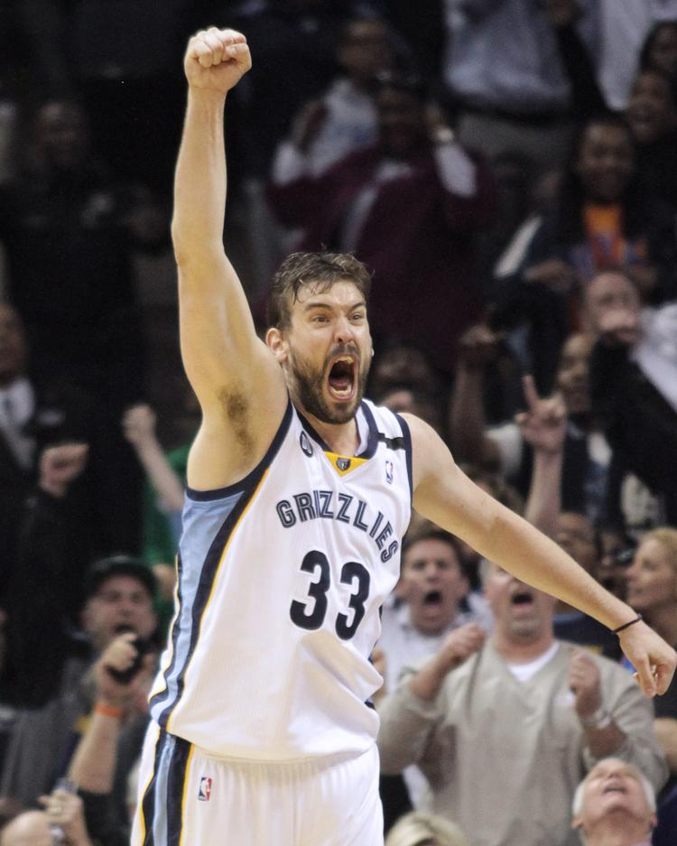 Marc Gasol and the rest of the Grizzlies are gearing up for the season.