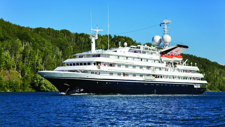 Grand Circle recently bought the 98-seat Corinthian, which is equipped to travel in icy waters.