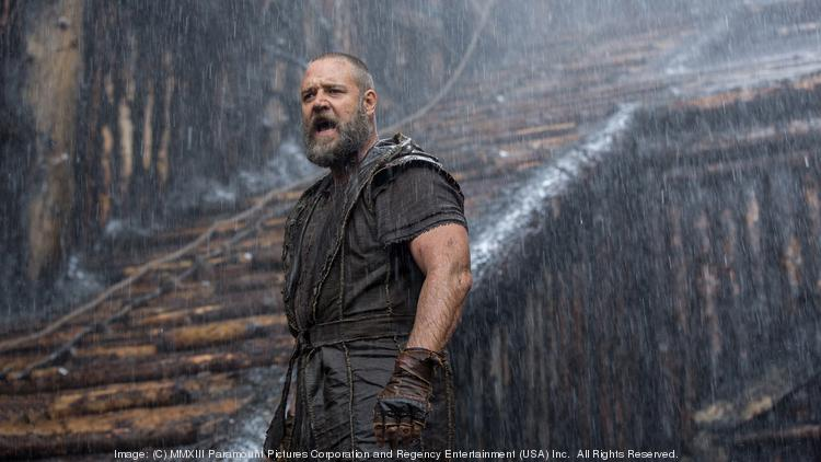 """""""Noah"""" floated to number one in overall disc and Blu-ray sales as well as rentals last week."""