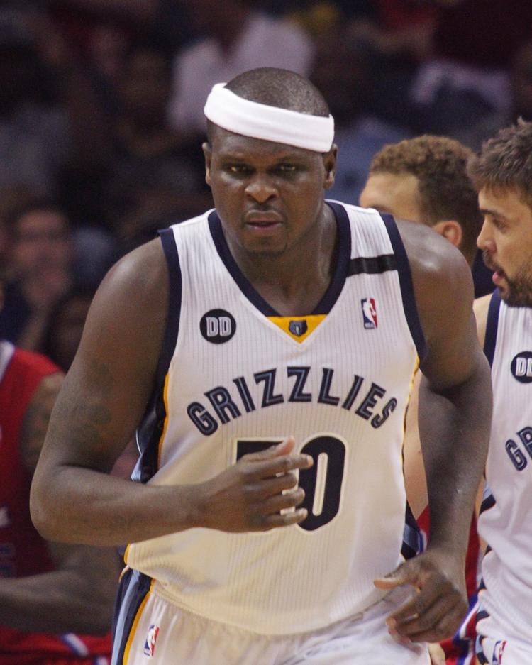 Zach Randolph is being honored by the city of Memphis with his own day on Dec. 27.