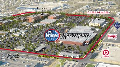 Kroger Co. purchased more than 12 acres of land at Oakley Station for the grocer's largest store in Greater Cincinnati.