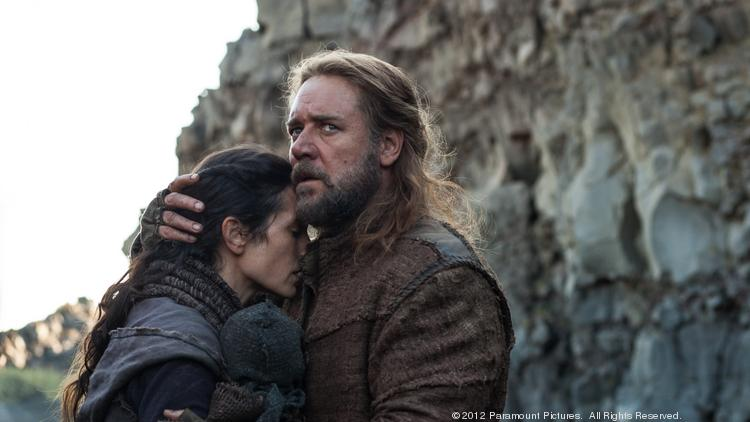 "Russell Crowe saw the best bow of his career in a leading role with ""Noah."""