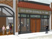 High Cotton's taproom should open this summer after renovations to the building.