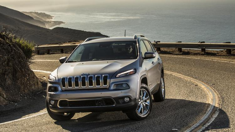 The 2014 Jeep Cherokee Limited.