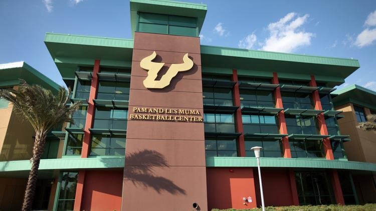 Pam and Les Muma Basketball Center next to the USF Sun Dome