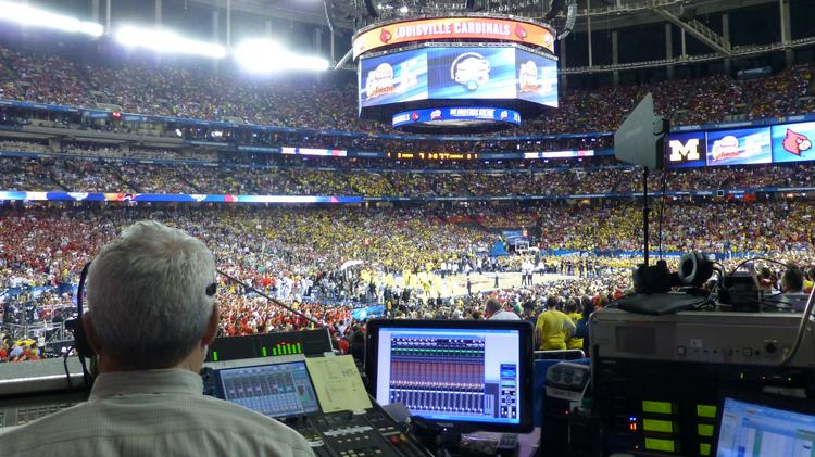 Lenexa acoustics consulting firm Avant Acoustics Inc. — formerly Coffeen Fricke & Associates Inc. — handles in-game acoustics at Atlanta's Georgia Dome for the 2013 Final Four.