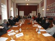 The group of international thought leaders and advisers were invited to participate in a strategy session.
