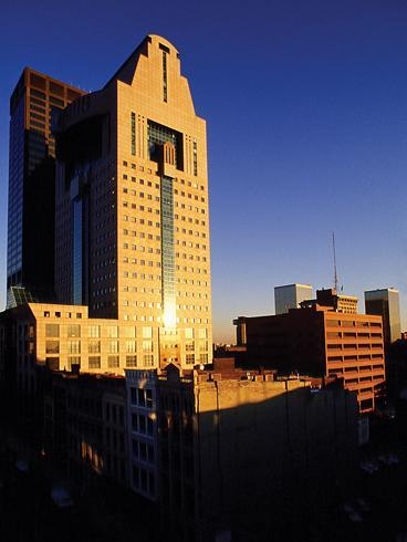 Humana Inc.'s headquarters is located on Main Street in Louisville.