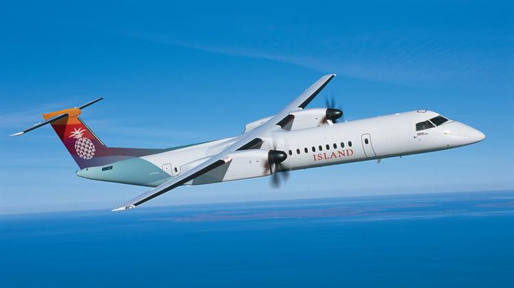 Island Air, which is owned by Oracle Corp. CEO Larry Ellison, is buying two Q400 NextGen turboprop aircraft from Bombardier for $61 million for its Hawaii interisland service.