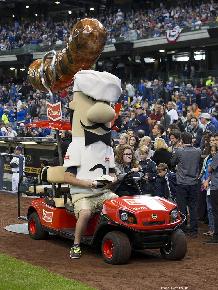 Klement's Sausage Co. Inc. has for years sponsored the Klement's Racing Sausages at Miller Park in Milwaukee.