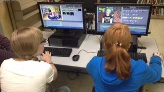 The Sto-Rox Creative Media Technology Center gives students the chance to gain experience with digital media production.