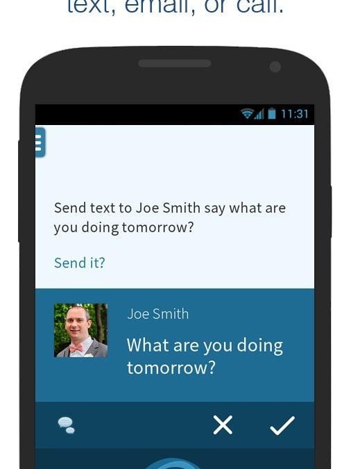 The newest version of Nuance Communications' Mobile Assistant app for Android includes voiceprint technology.
