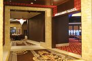 This hallway leads to the high limit tables and the high limit slots, which are $500 per spin.
