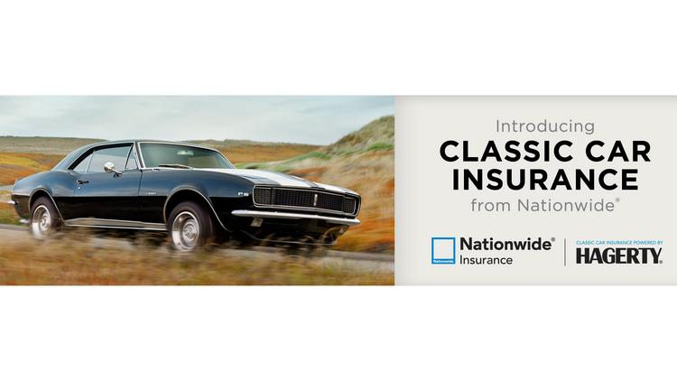 Nationwide Classic Car Insurance Launched Through Deal With Hagerty
