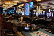 A look at more of the casino's table games, which include craps and roulette.
