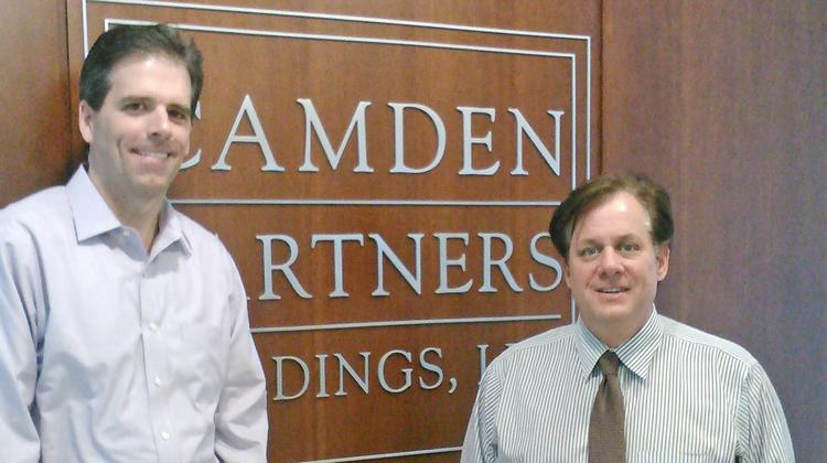 Christopher W. Kersey, left, and David L. Warnock of Camden Partners.