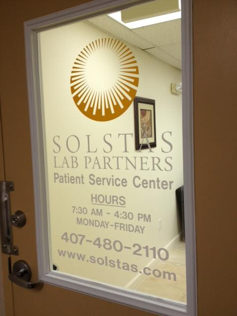 Solstas Lab Parnters plans to open three new labs in the Orlando area this year and another in Lake County.