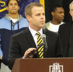 Marquette basketball coach <strong>Wojciechowski</strong> urges fans to voice arena support