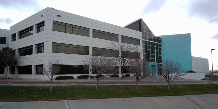 Colliers International is leasing a 324,000-square-foot, 22-acre office complex in the city's airport submarket, known as the Albuquerque Office Complex, which is being vacated by Presbyterian Healthcare Services toward the end of 2014.