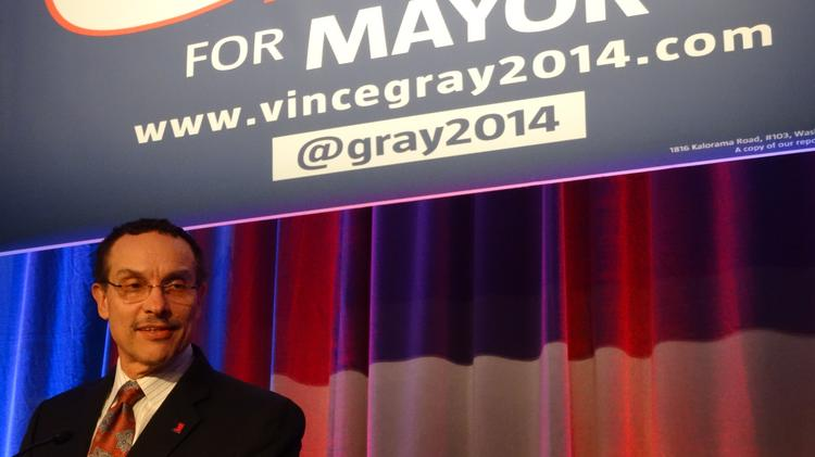 "Mayor Vincent Gray's recommendations to improve the regulatory environment in the District for businesses with ""transcend"" his soon-to-end administration, he said Wednesday."