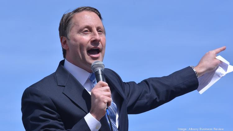 Rob Astorino will headline a fundraiser in Scotia on Friday, May 16, the morning after he gets the expected official endorsement to run on the Republican line for governor of New York.