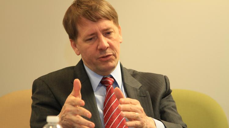 Central Ohio native Richard Cordray is director of the Consumer Financial Protection Bureau.