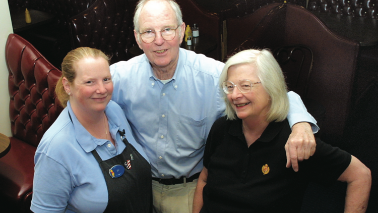 Kim Durkheimer (left) had taken over the helm of the Red Coach restaurant in 2008 from her father Bob and mother Jeanne. The Red Coach closed March 29.
