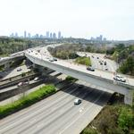 Fewer using Ga. 400 flyover ramps than expected (VIDEO)