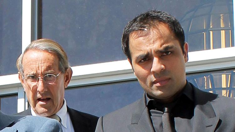 "Gurbaksh ""G"" Chahal has been fired from his positions as CEO and chairman of the adtech company RadiumOne, which he founded in 2010.. Gurbaksh Chahal (right) leaves court with attorney Stuart Gordon in San Francisco"