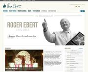 The revamped rogerebert.com Website now focuses on criticism, commentary and community.