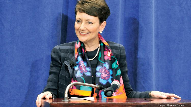 Lynn Good is CEO of Charlotte-based Duke Energy.