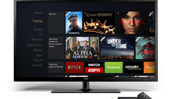 Amazon.com Inc. introduced its new Fire TV device on Wednesday.